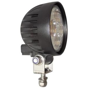 CRYSTAL 4 LEDS WORK LAMP-10/30V-ROND D:085MM-N-DEUTSCH-IP67 - LED ...