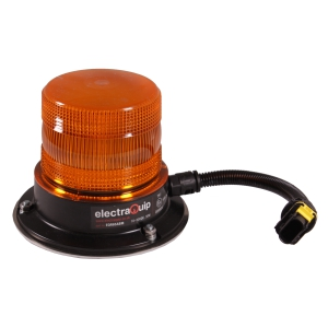 Electraquip EQPR65ABM-MM Magnetic Mount R65 LED Amber Beacon