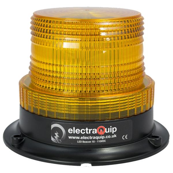 feu flash led orange 10 110v fix 3points d 130 h 98mm 130abm non r65. Black Bedroom Furniture Sets. Home Design Ideas