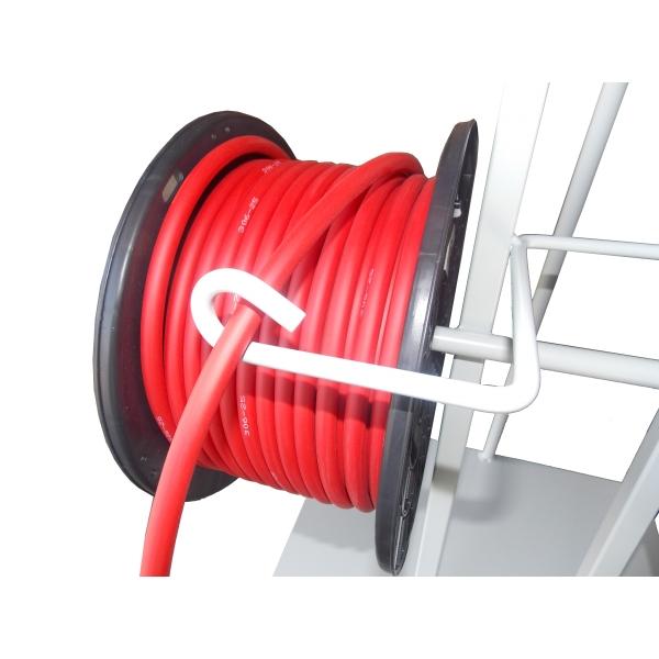 cable extra souple 25mm2 rouge bobine de presentoir vendu par 40m. Black Bedroom Furniture Sets. Home Design Ideas